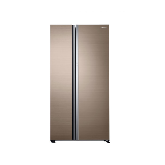 Samsung Refrigerator Side By Side RH62K60B77P/TL Food Showcase With Twin Cooling Plus, 674L
