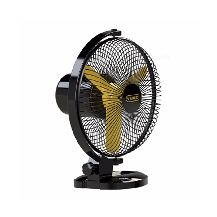 V Guard Table Fan Selfee Yellow Black