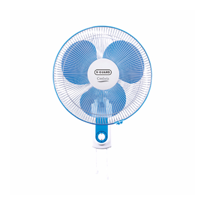 Buy V Guard Wall Fan Coolwiz Blue White Buy High Quality