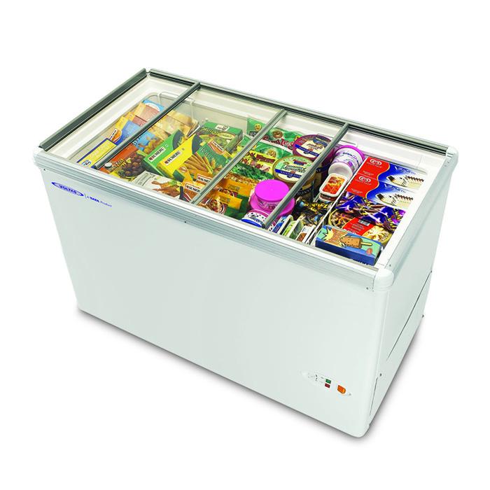 Voltas Deep Freezer 110L Sliding Glass Top (x)