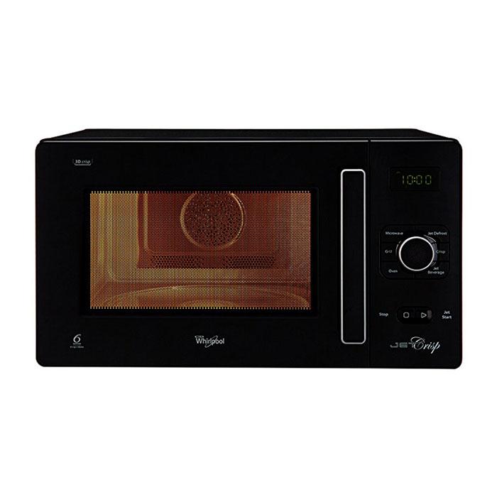 Whirlpool Microwave Oven Crisp-conv Black 25 L
