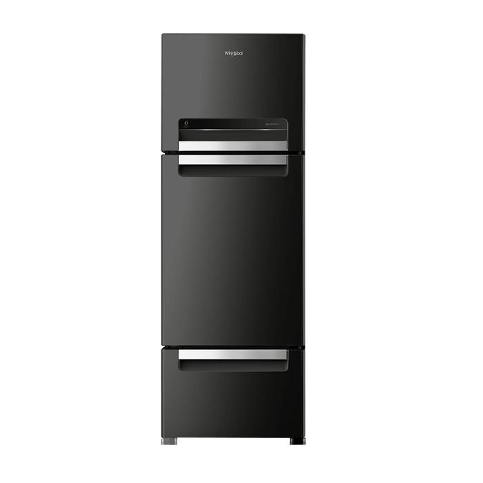 Whirlpool Refrigerator Dd Fp 343D Royal Protton (330L)-CAVIAR Black