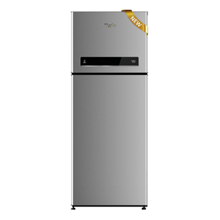 Whirlpool Refrigerator Double Door Neo DF278 Prm 3S (265L)Illusia Steel