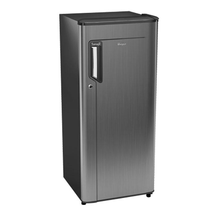 Whirlpool Refrigerator Sd 205 Icemagic Powercool Prm 3S Titanium (185 Ltr)-grey