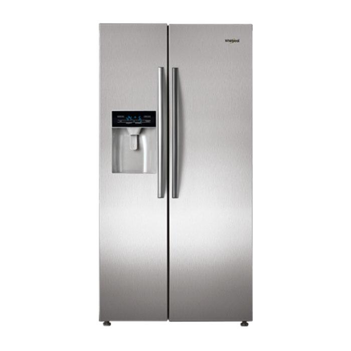Whirlpool Refrigerator Side By Side Sbs 600 Steel (568L)
