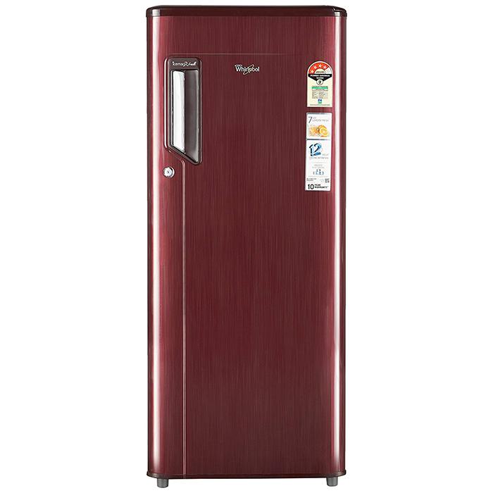 Whirlpool Sd Refrigerator 230 Imfresh Prm 4s Wine Titanium -215 Ltrs