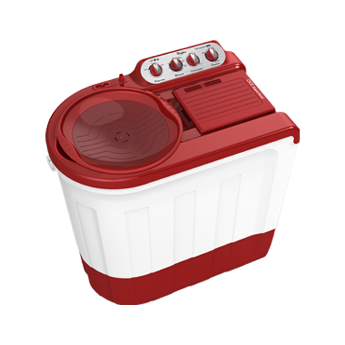 Whirlpool Washing Machine Ace 7.5 Supersoak (7.5 Kg) Red