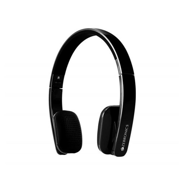 Zebronics Head Phone Happy Head Bluetooth-Black