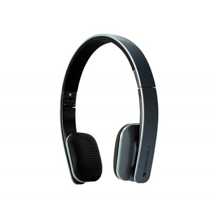Zebronics Head Phone Happy Head Bluetooth-Blue