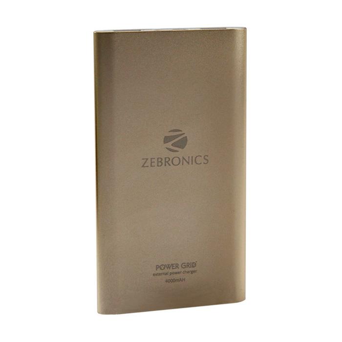 Zebronics Power Bank ZEB-PG4000-Gold