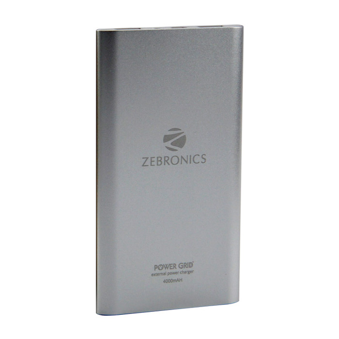 Zebronics Power Bank ZEB-PG4000-Silver